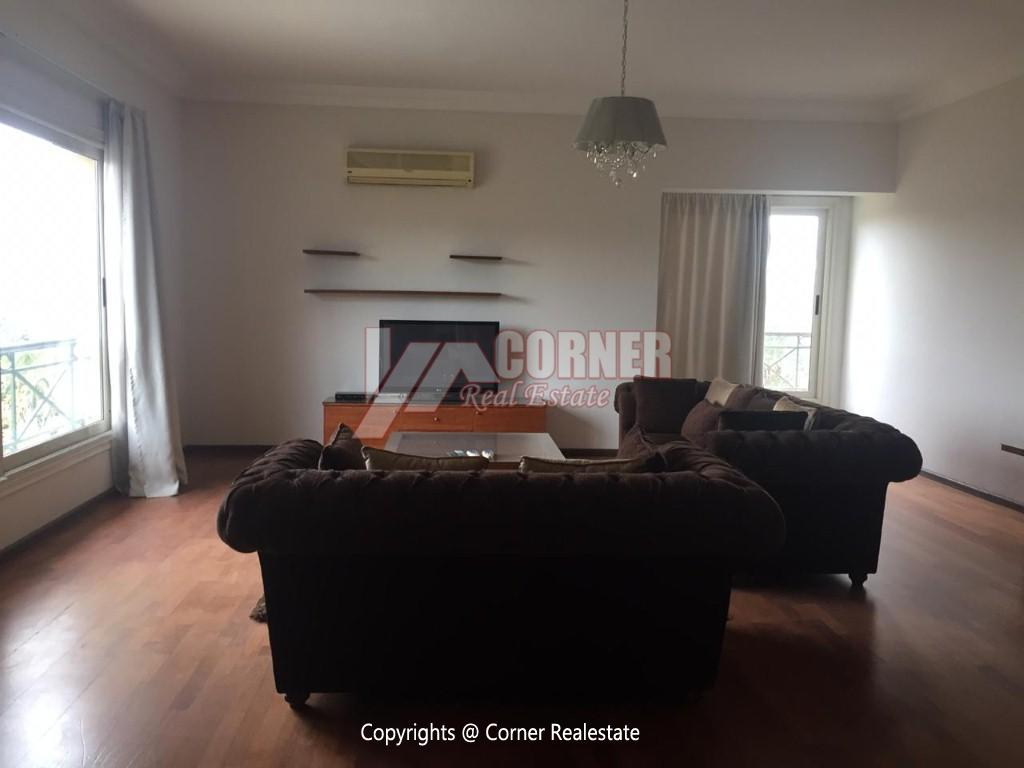 Apartment For Rent In katameya Heights,Modern Furnished,Apartment NO #14