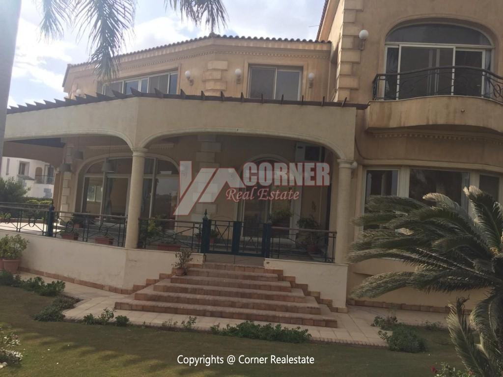 Villa For Rent In Katameya Heights,Semi furnished,Villa NO #14