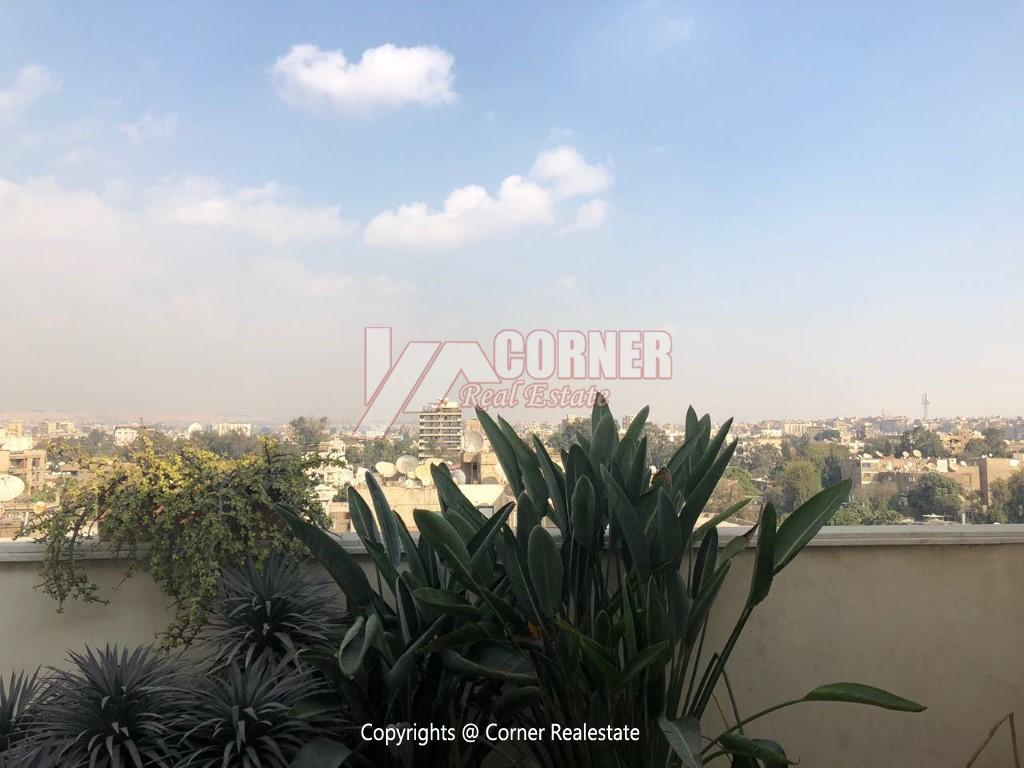 Penthouse For Rent In Maadi,Modern Furnished,Penthouse NO #13
