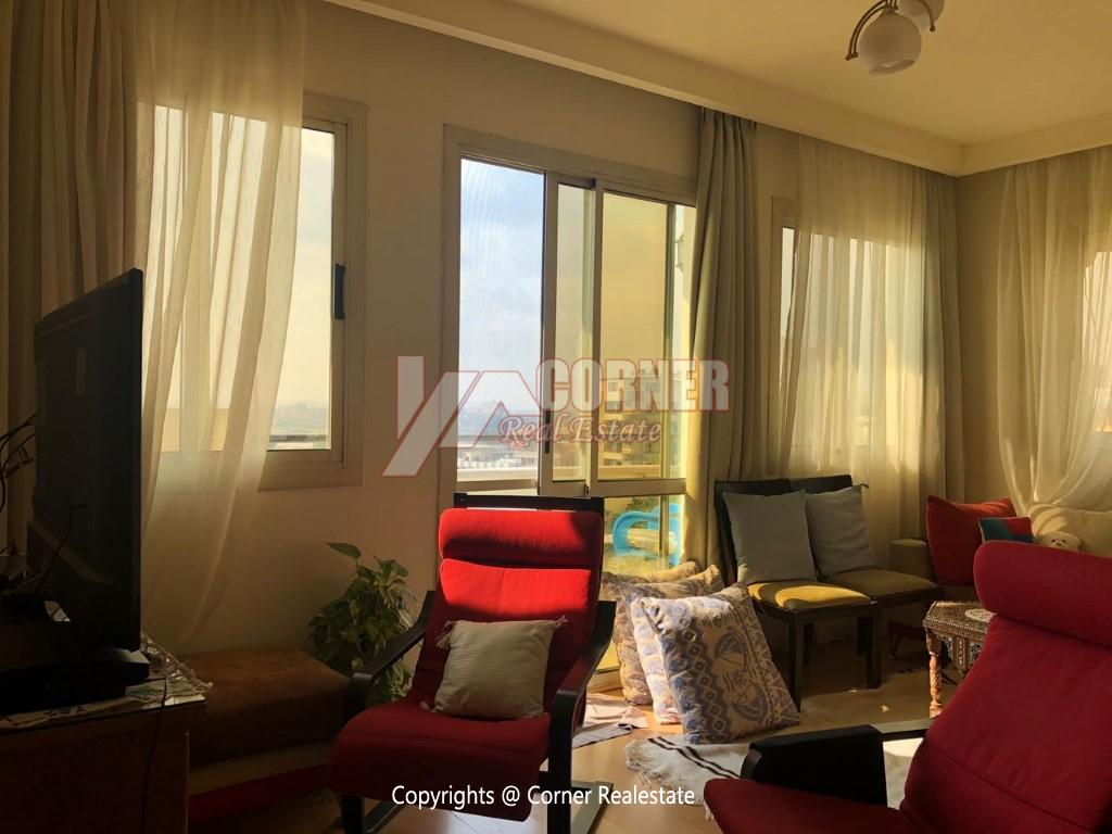 Penthouse For Rent In Maadi,Modern Furnished,Penthouse NO #5