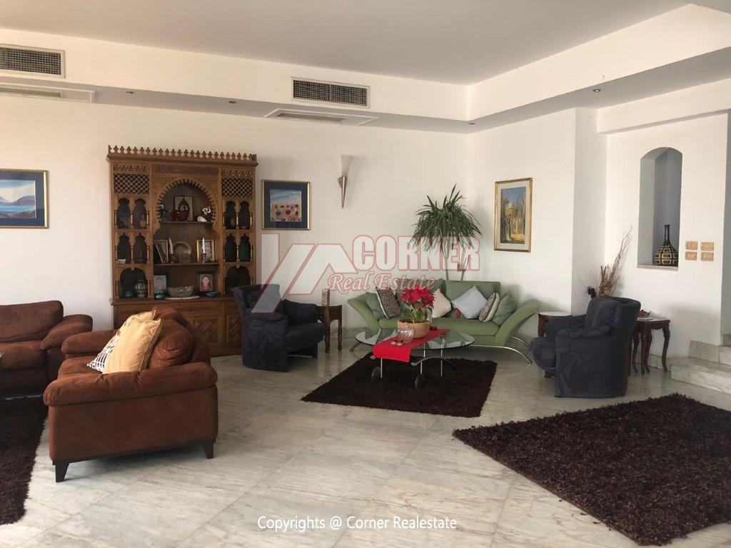 Penthouse For Rent In Maadi,Modern Furnished,Penthouse NO #2
