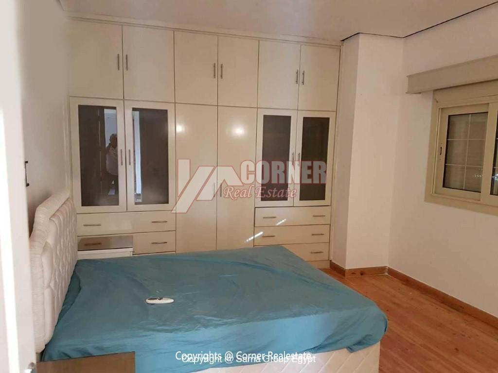 Ground Floor For Rent in Katameya Heights,Modern Furnished,Ground Floor NO #7