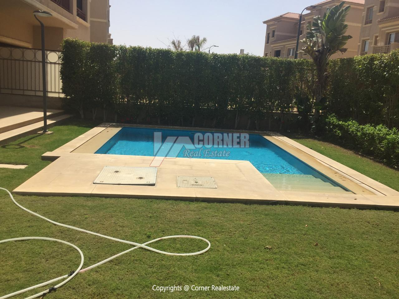 Villa For Rent In Katameya Dunes,Semi furnished,Villa NO #27