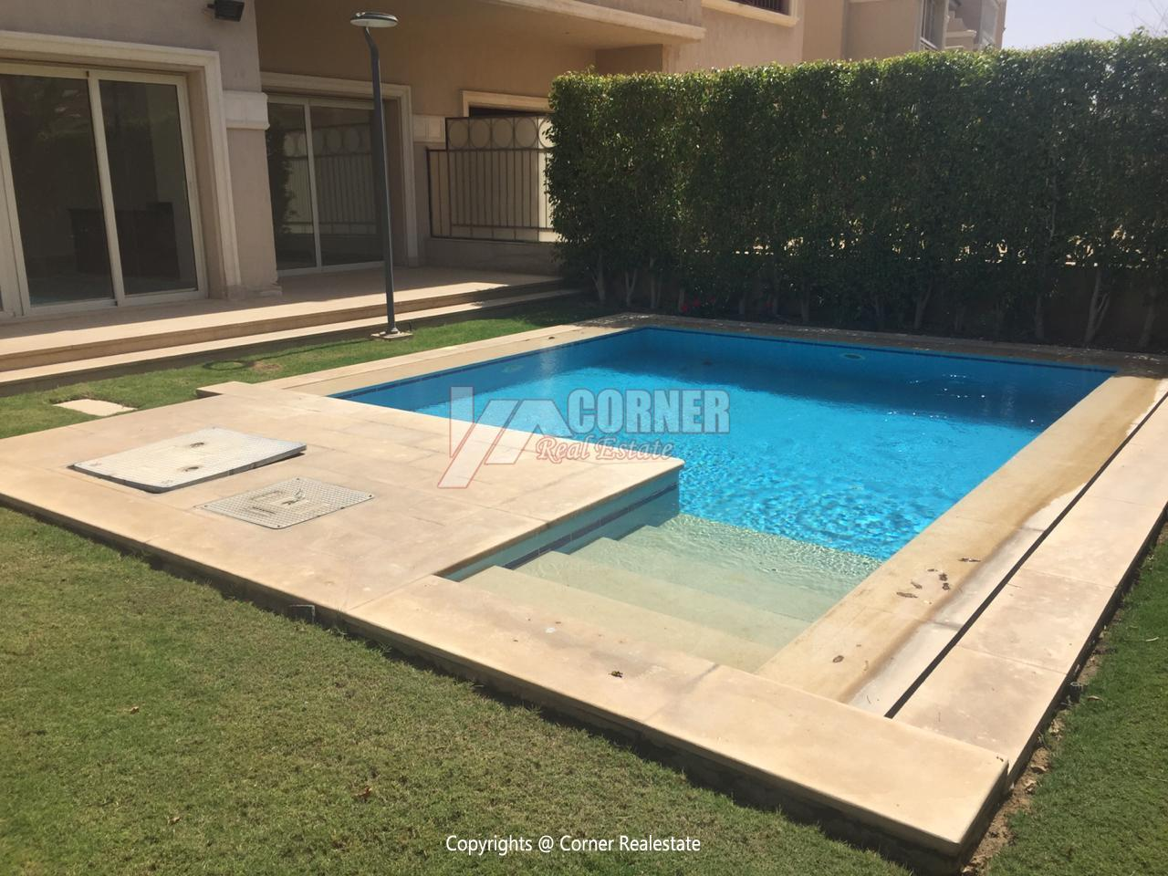 Villa For Rent In Katameya Dunes,Semi furnished,Villa NO #7