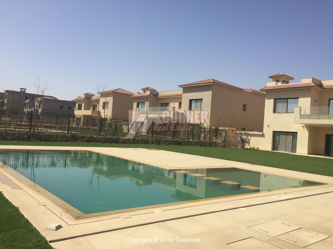 Villa For Rent In Katameya Dunes,Semi furnished,Villa NO #17