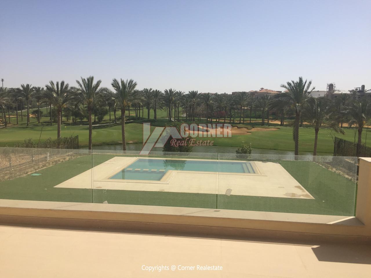 Villa For Rent In Katameya Dunes,Semi furnished,Villa NO #23