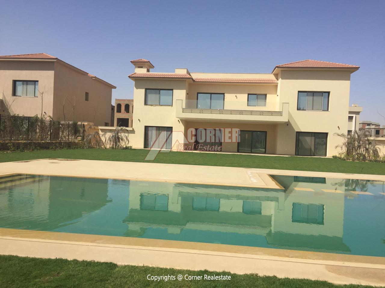 Villa For Rent In Katameya Dunes,Semi furnished,Villa NO #11