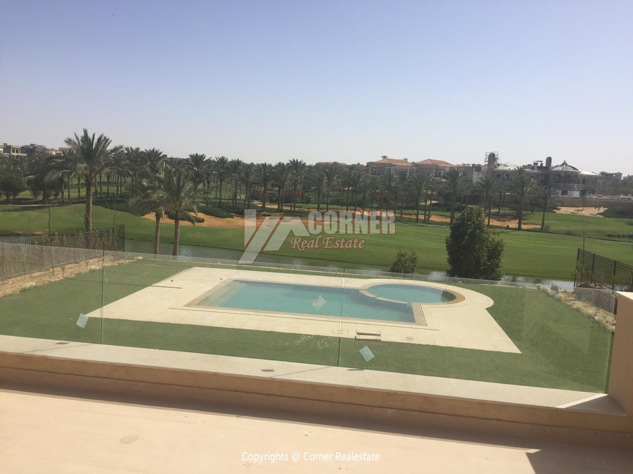 Villa For Rent In Katameya Dunes,Semi furnished,Villa NO #24