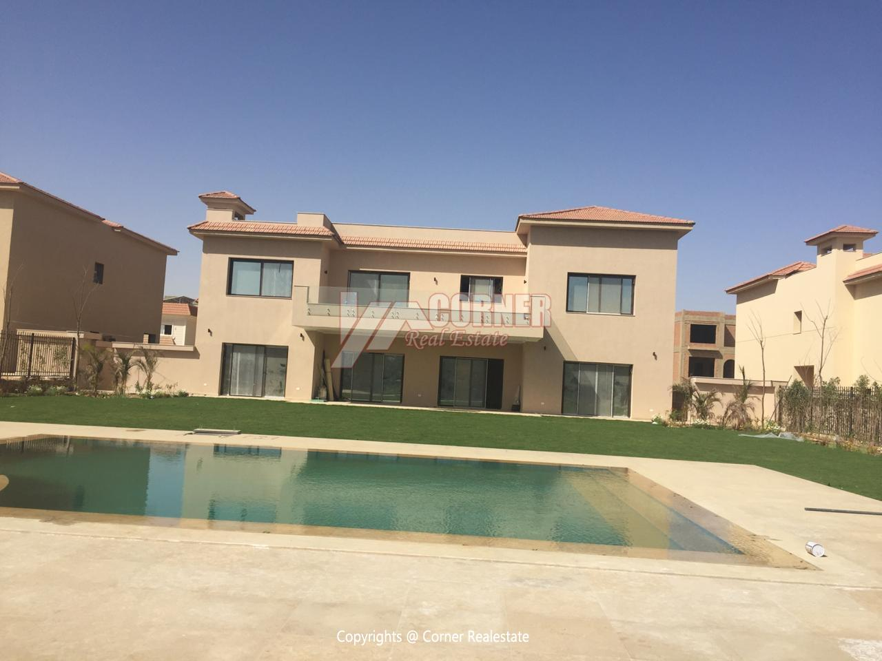 Villa For Rent In Katameya Dunes,Semi furnished,Villa NO #34