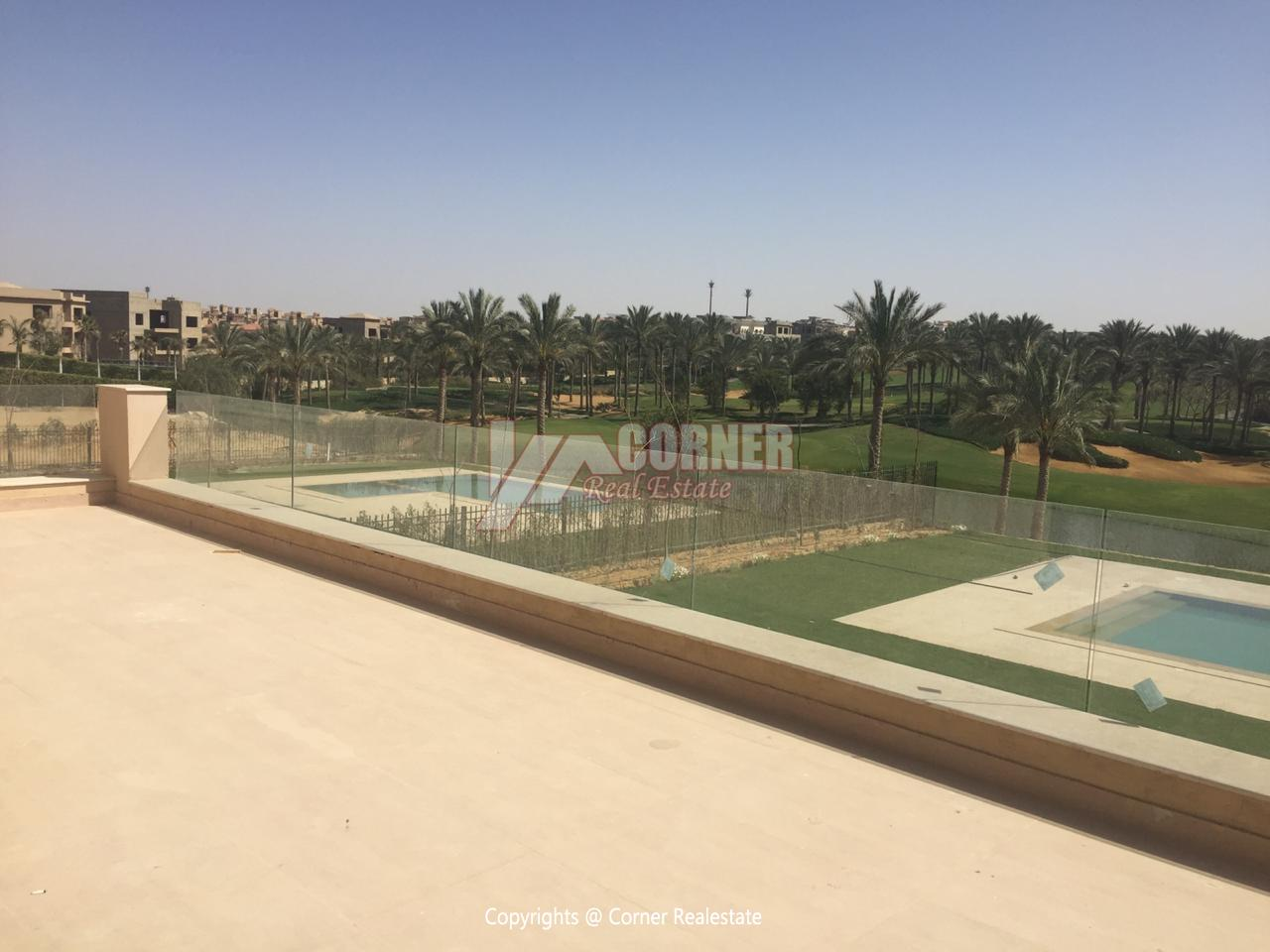 Villa For Rent In Katameya Dunes,Semi furnished,Villa NO #36