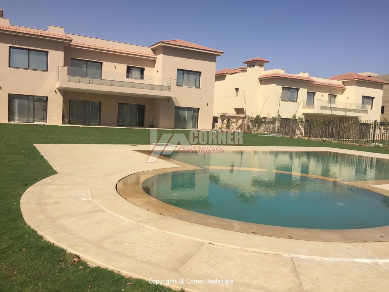 Villa For Rent In Katameya Dunes,Semi furnished,Villa NO #3