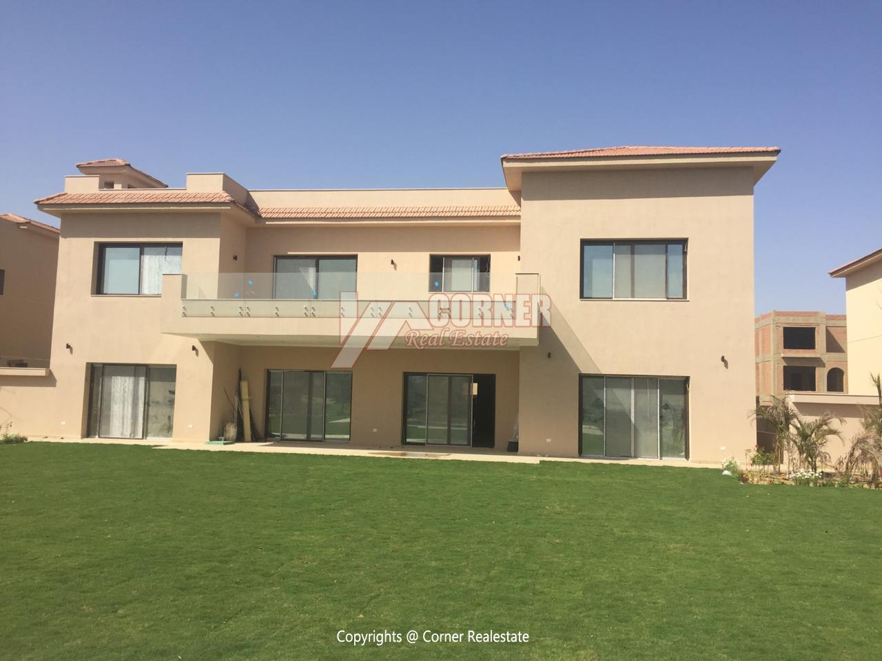 Villa For Rent In Katameya Dunes,Semi furnished,Villa NO #5