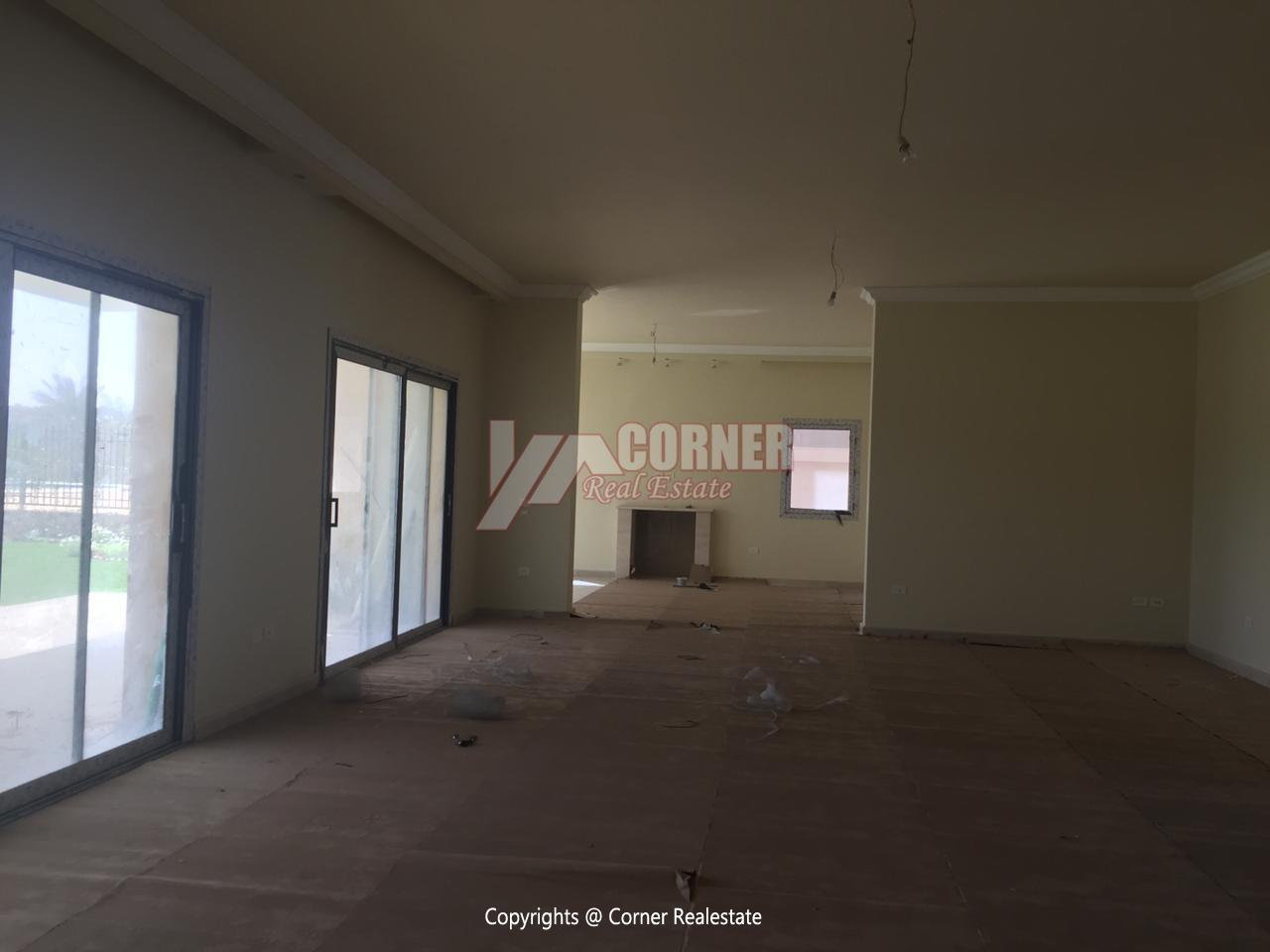 Villa For Rent In Katameya Dunes,Semi furnished,Villa NO #14