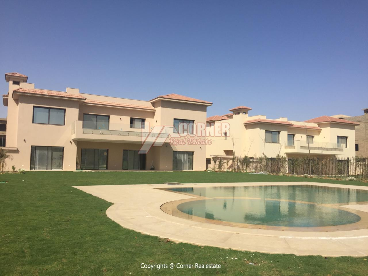 Villa For Rent In Katameya Dunes,Semi furnished,Villa NO #16