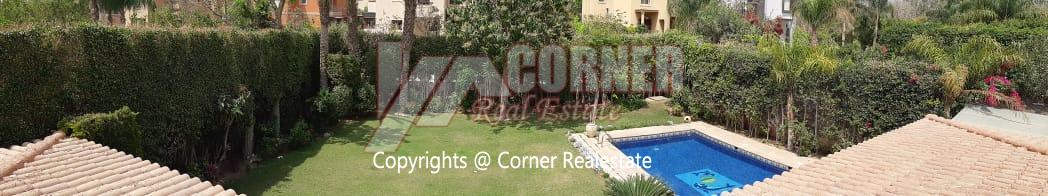 Villa For Rent in Katameya Heights,Furnished,Villa NO #31