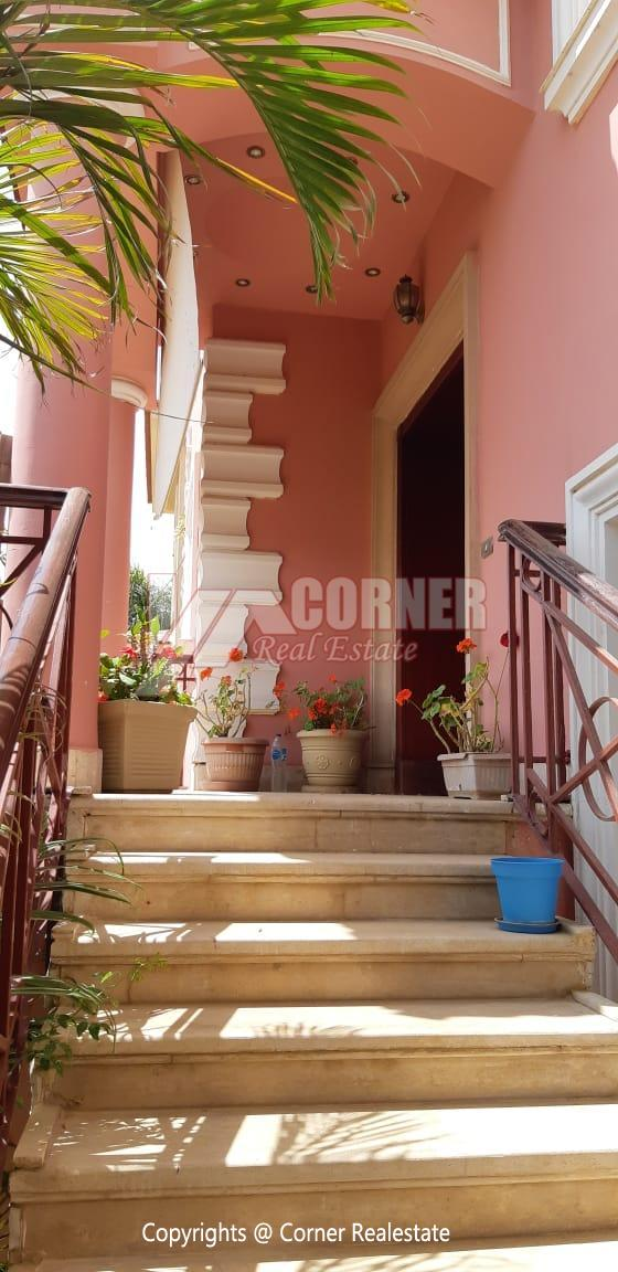 Villa For Rent in Katameya Heights,Furnished,Villa NO #40