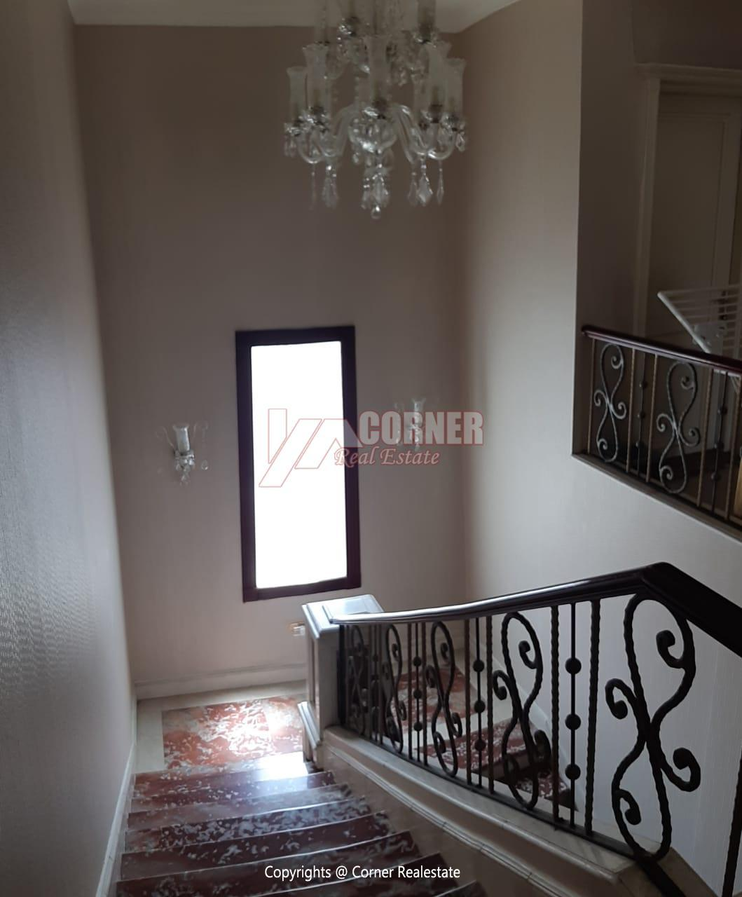 Villa For Rent in Katameya Heights,Furnished,Villa NO #16