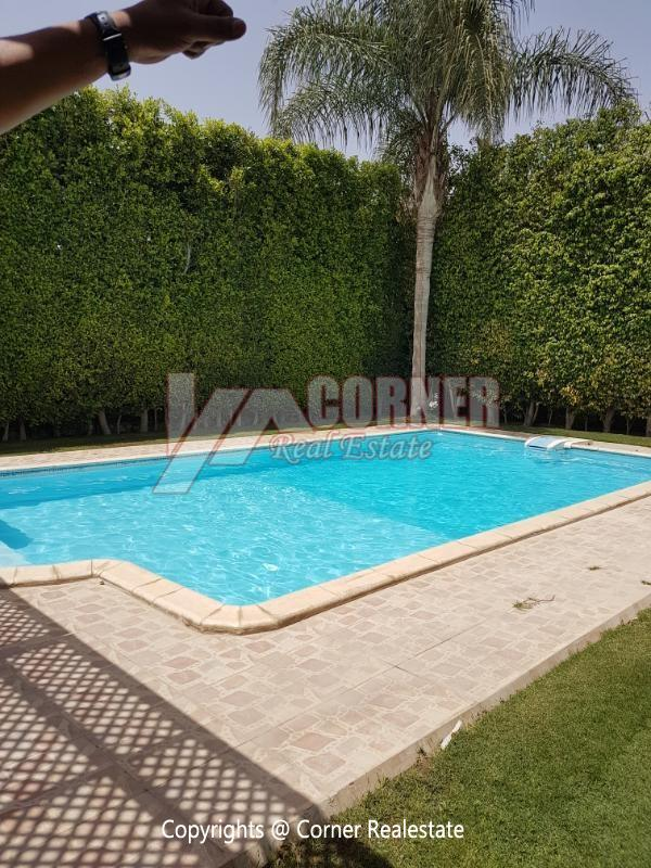 Villa For Rent in Katameya Heights,Furnished,Villa NO #12