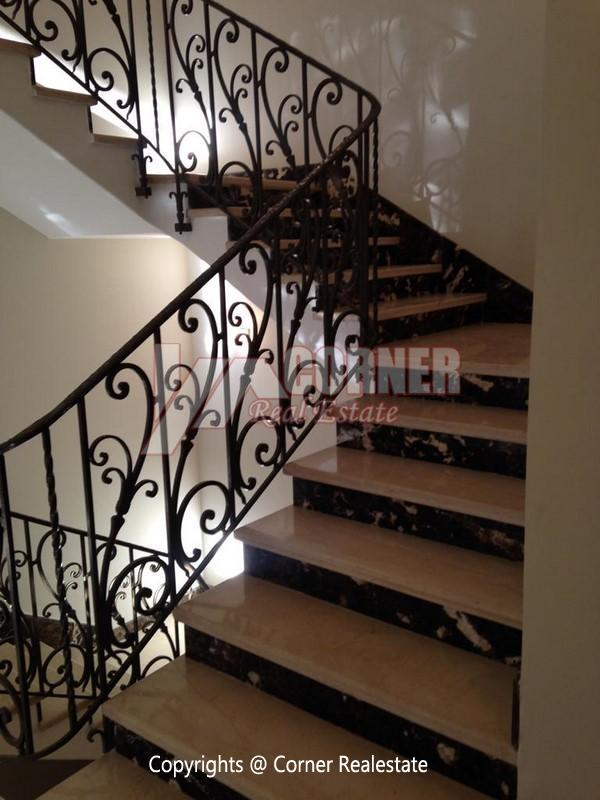 Villa for Rent in Maadi,Furnished,Ground Floor - Triplex NO #23