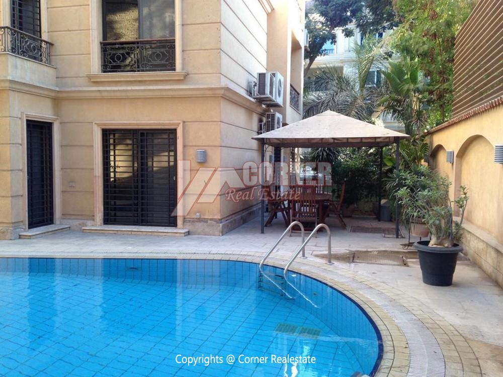 Villa for Rent in Maadi,Furnished,Ground Floor - Triplex NO #7