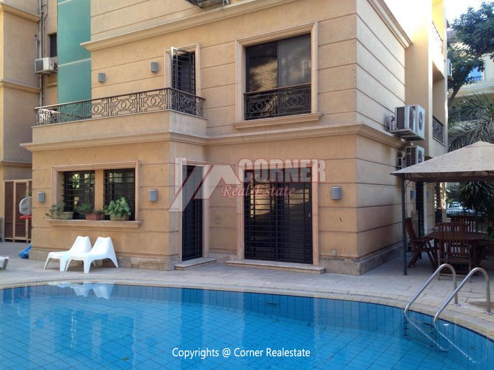 Villa for Rent in Maadi,Furnished,Ground Floor - Triplex NO #10