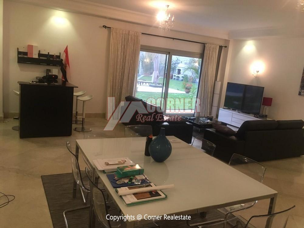 Ground Floor Apartment For Rent in Maadi,Semi furnished,Ground Floor NO #13