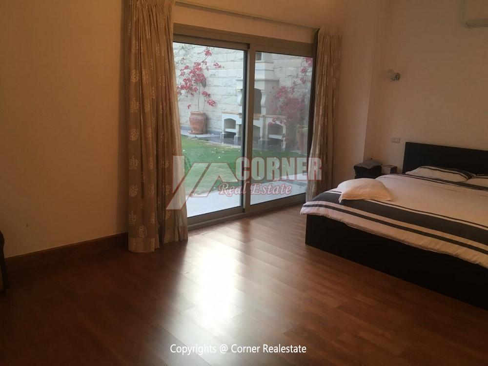 Ground Floor Apartment For Rent in Maadi,Semi furnished,Ground Floor NO #14