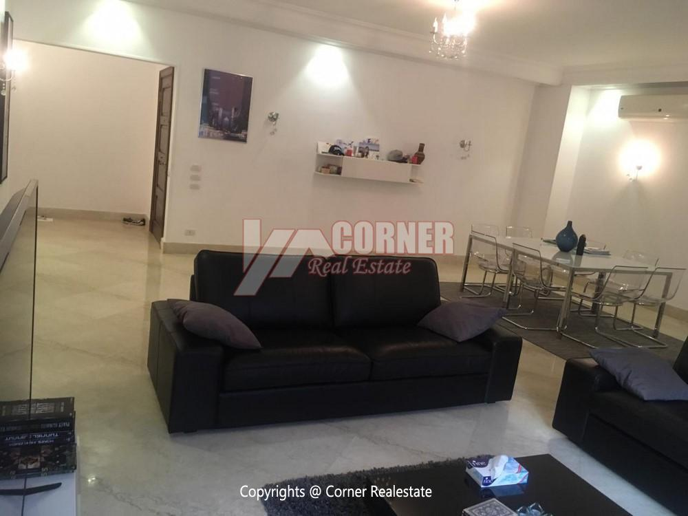 Ground Floor Apartment For Rent in Maadi,Semi furnished,Ground Floor NO #19