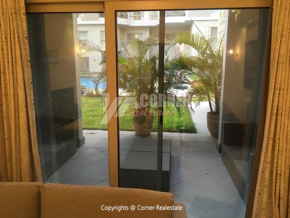 Ground Floor Apartment For Rent in Maadi,Semi furnished,Ground Floor NO #21