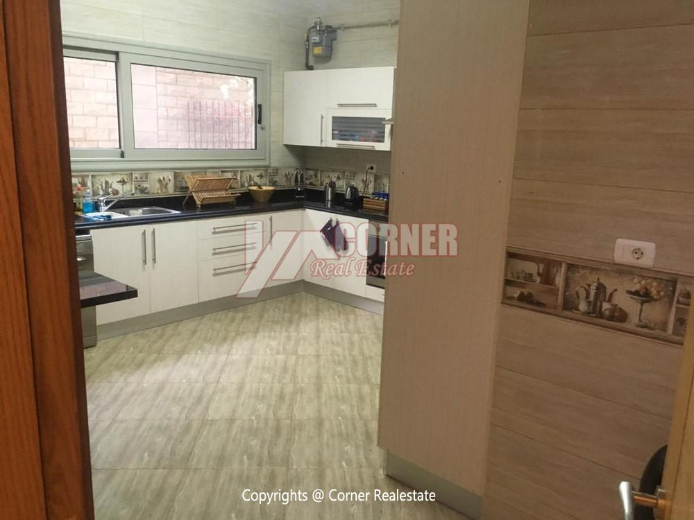 Ground Floor Apartment For Rent in Maadi,Semi furnished,Ground Floor NO #3