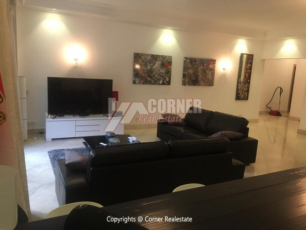 Ground Floor Apartment For Rent in Maadi,Semi furnished,Ground Floor NO #4