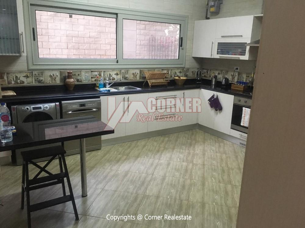 Ground Floor Apartment For Rent in Maadi,Semi furnished,Ground Floor NO #8