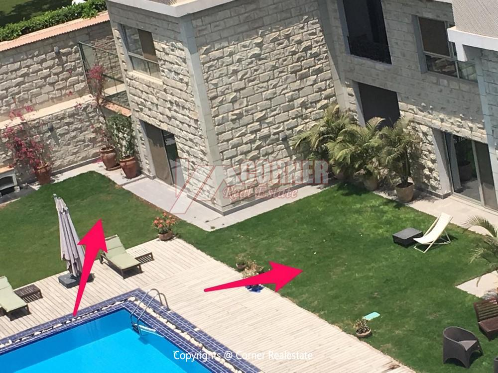Ground Floor Apartment For Rent in Maadi,Semi furnished,Ground Floor NO #9
