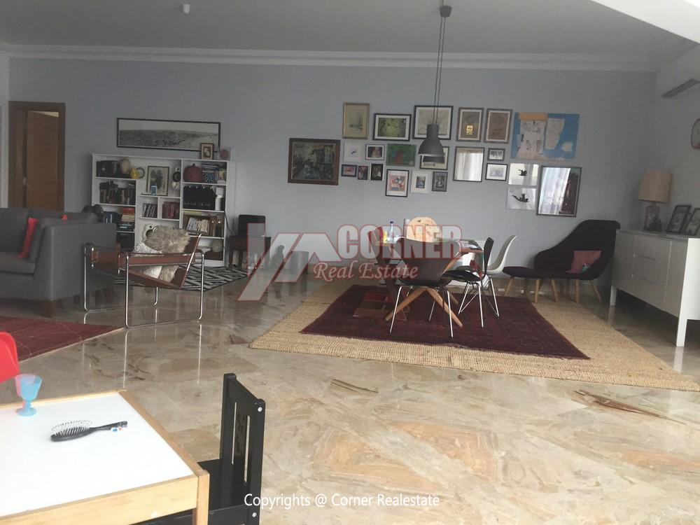 Modern Penthouse For Rent in Maadi,Semi furnished,Penthouse Duplex NO #18