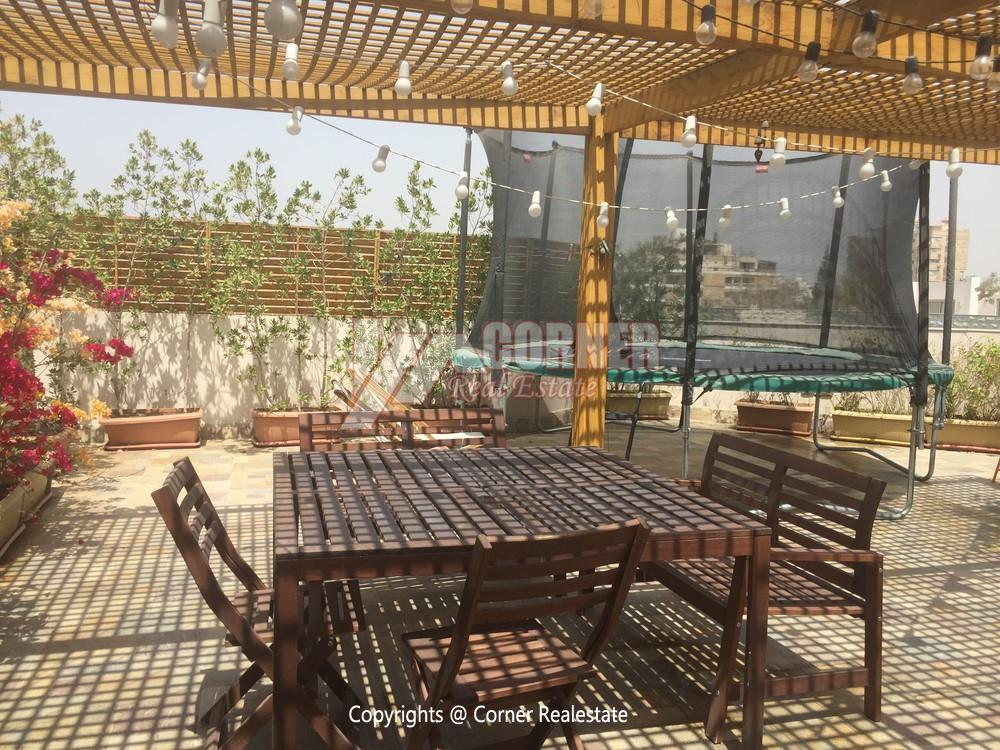 Modern Penthouse For Rent in Maadi,Semi furnished,Penthouse Duplex NO #2