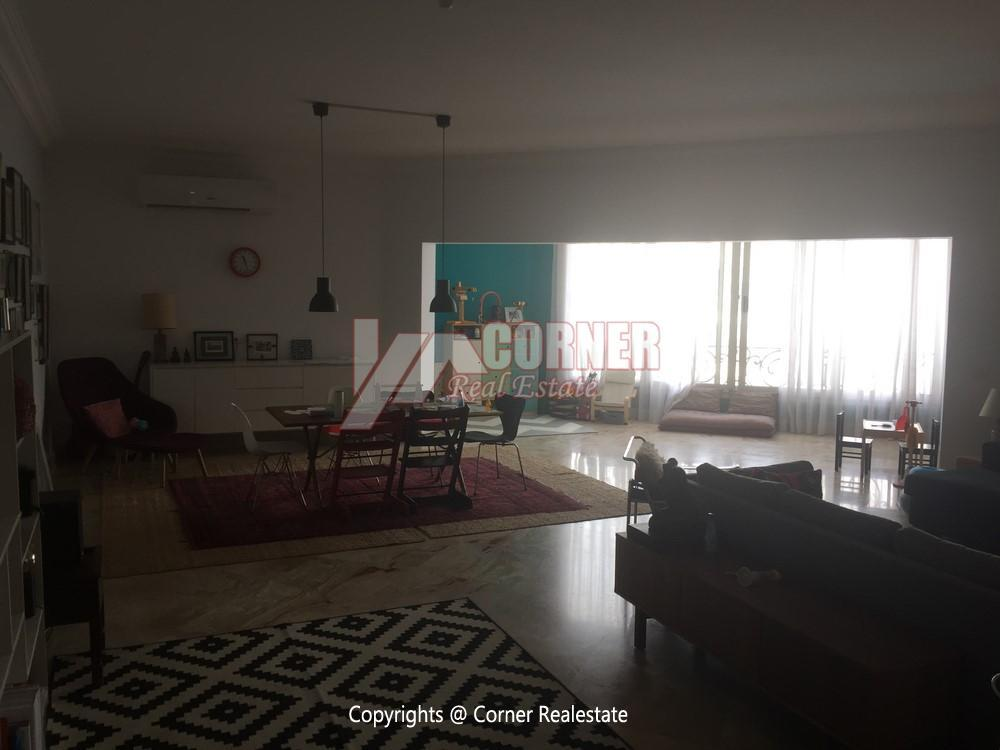 Modern Penthouse For Rent in Maadi,Semi furnished,Penthouse Duplex NO #14