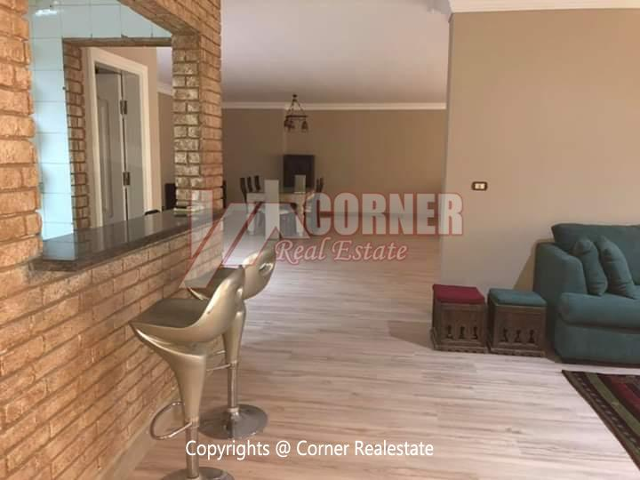 Apartment For Rent In Maadi Sarayat,Furnished,Apartment NO #10