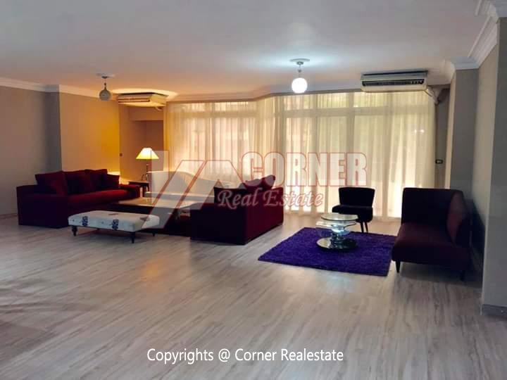 Apartment For Rent In Maadi Sarayat,Furnished,Apartment NO #3