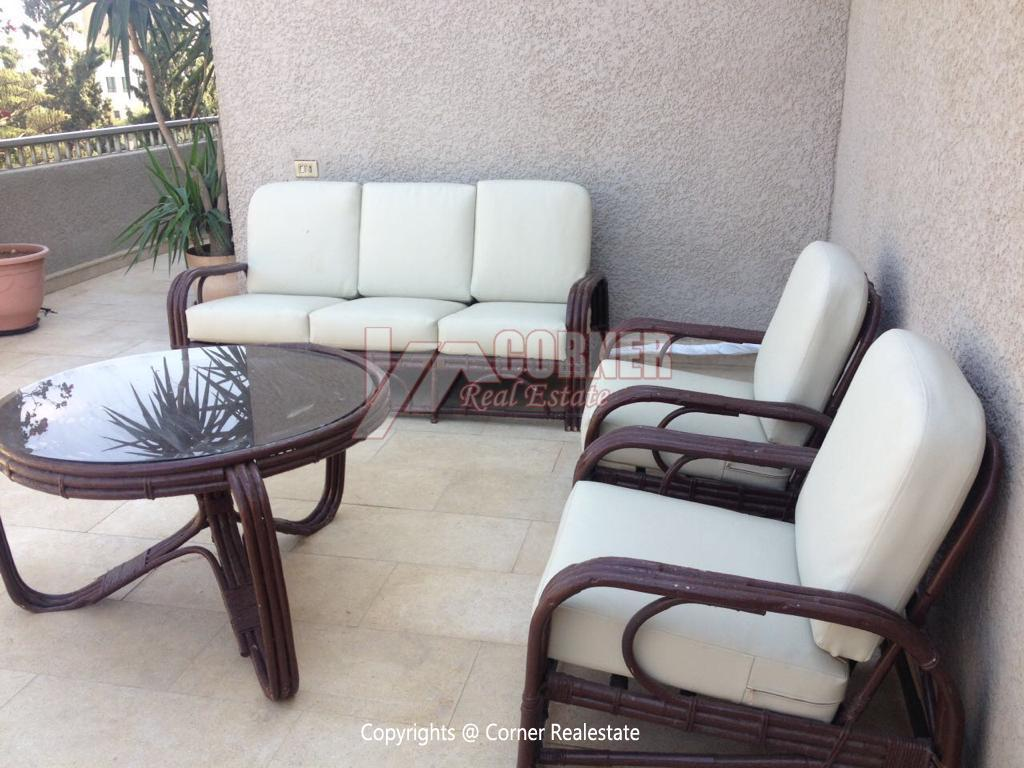 Penthouse For Rent In Maadi Degla,Furnished,Penthouse NO #16