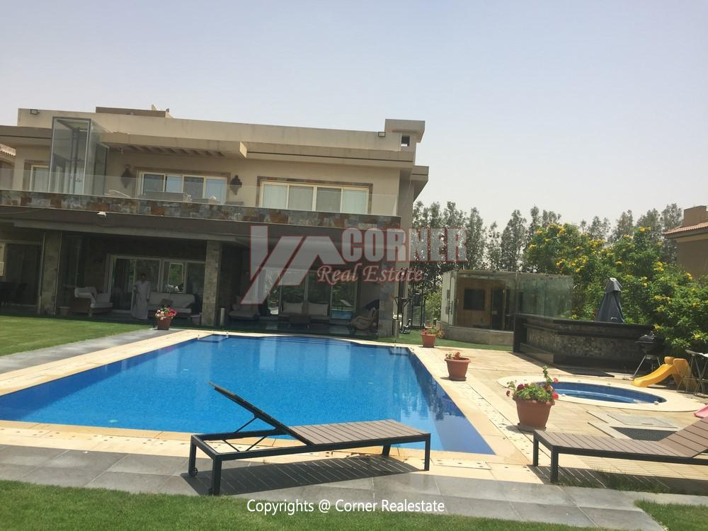 Villa For Rent in Katameya Heights,Furnished,Villa NO #22