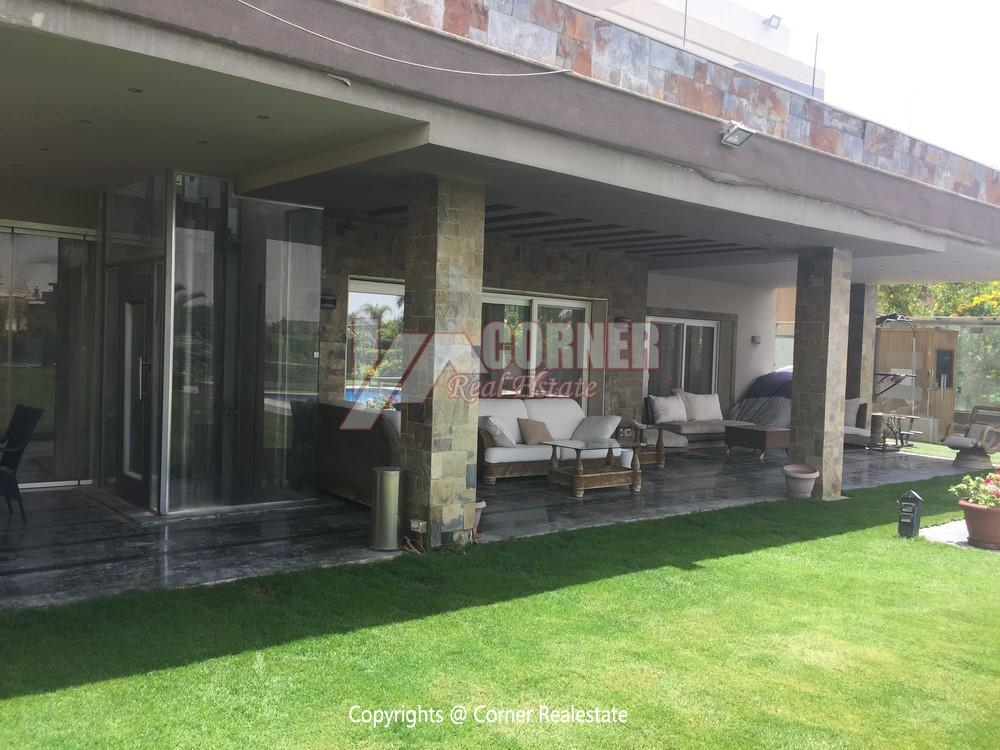 Villa For Rent in Katameya Heights,Furnished,Villa NO #25