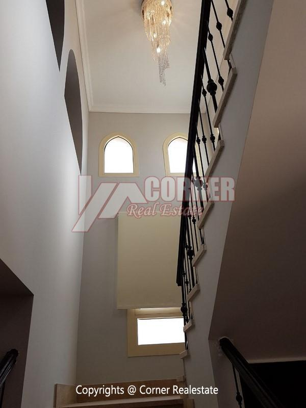 Villa for Rent in Mivida New Cairo,Semi furnished,Villa NO #4