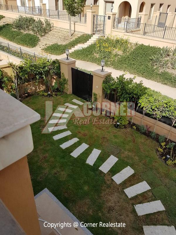 Villa for Rent in Mivida New Cairo,Semi furnished,Villa NO #5
