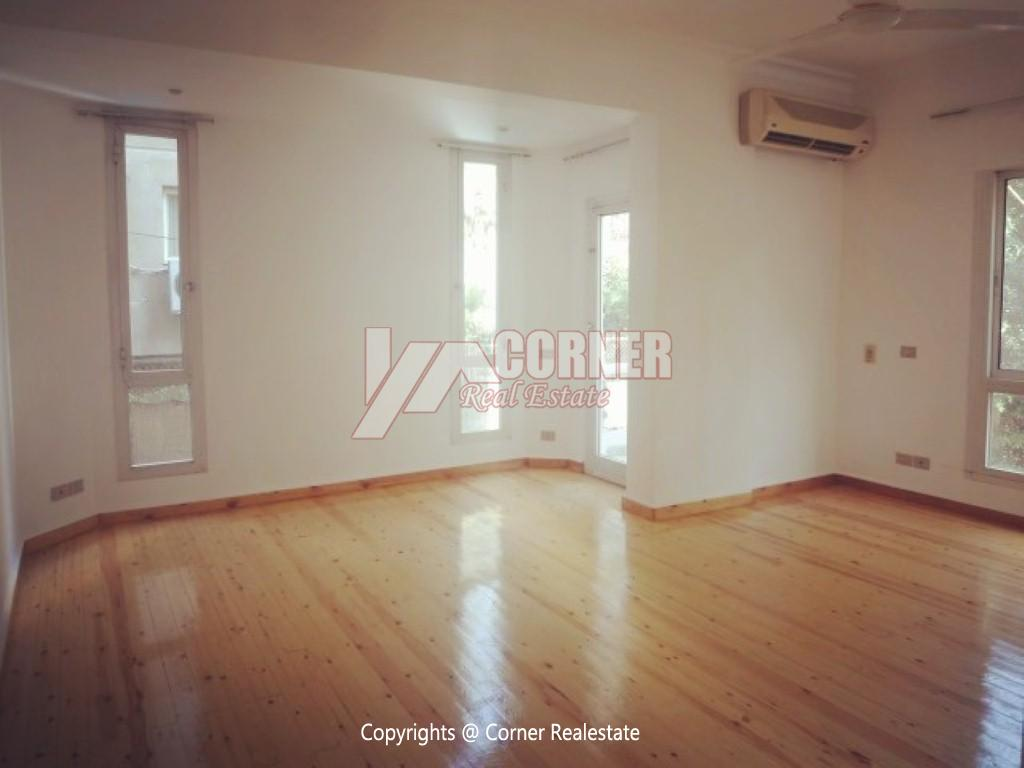 Ground Floor With Pool For Rent In Maadi,Furnished,Ground Floor NO #11