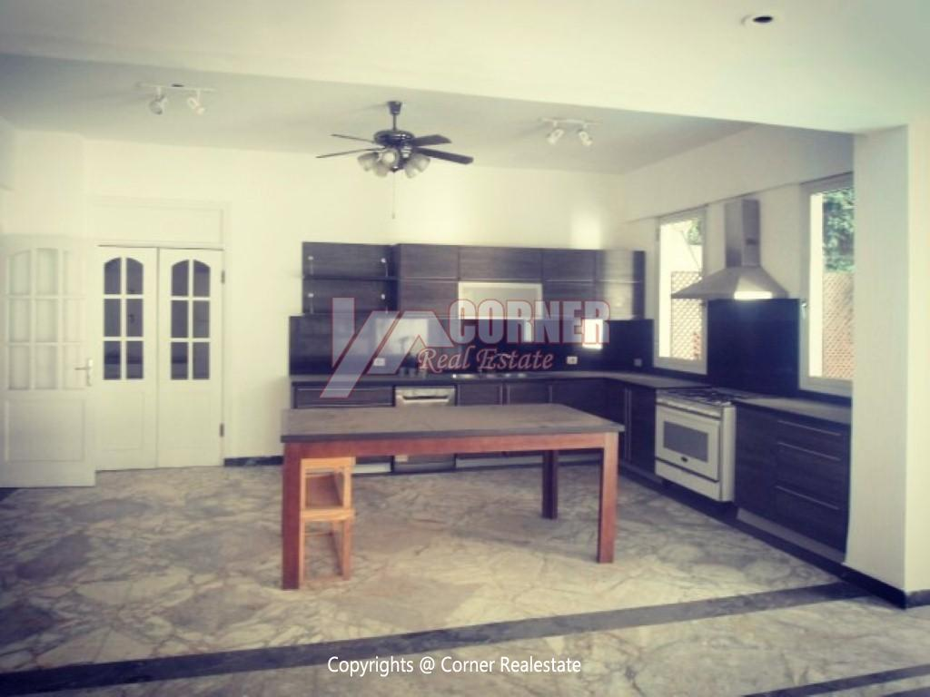 Ground Floor With Pool For Rent In Maadi,Furnished,Ground Floor NO #9