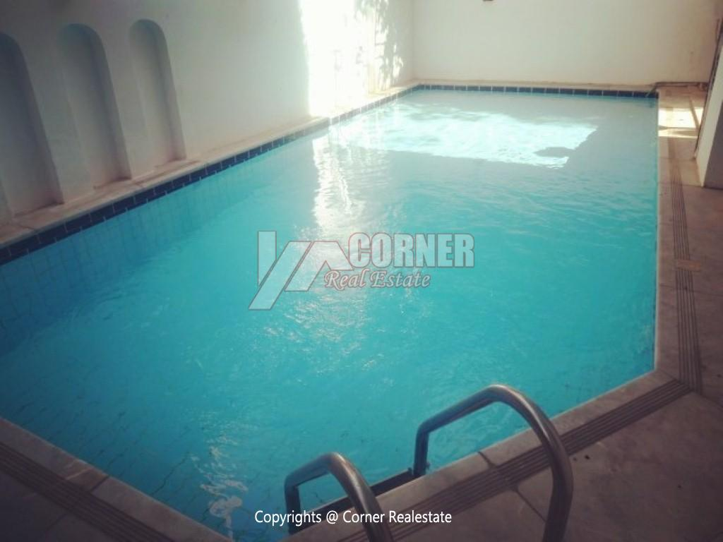 Ground Floor With Pool For Rent In Maadi,Furnished,Ground Floor NO #8