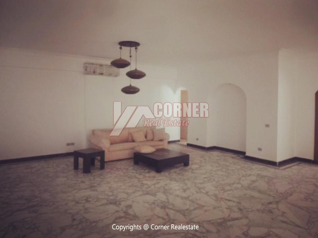 Ground Floor With Pool For Rent In Maadi,Furnished,Ground Floor NO #4