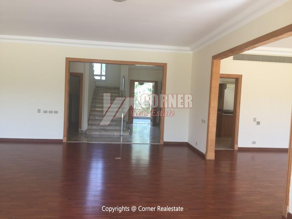 Villa For Rent in Katameya Heights,Semi furnished,Duplex NO #23