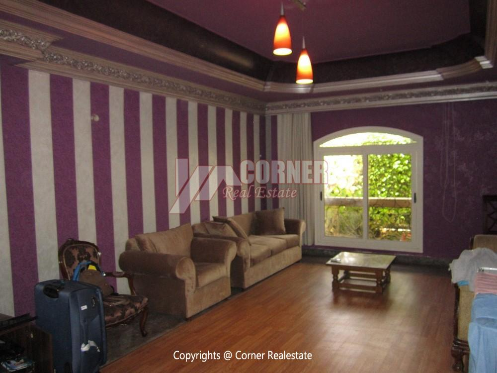 Ground Floor Duplex For Rent In West Golf New Cairo,Furnished,Apartment NO #13