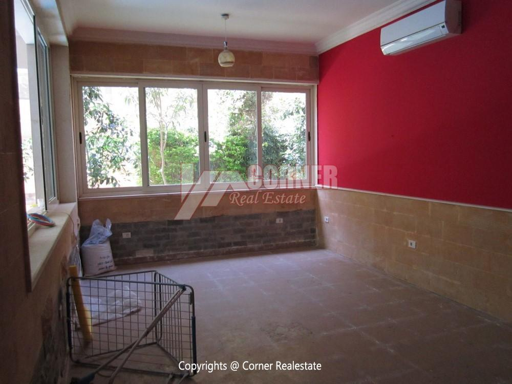 Ground Floor Duplex For Rent In West Golf New Cairo,Furnished,Apartment NO #5